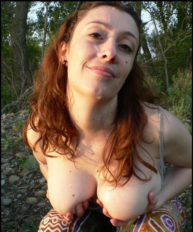 Густо залитые спермой мордашки