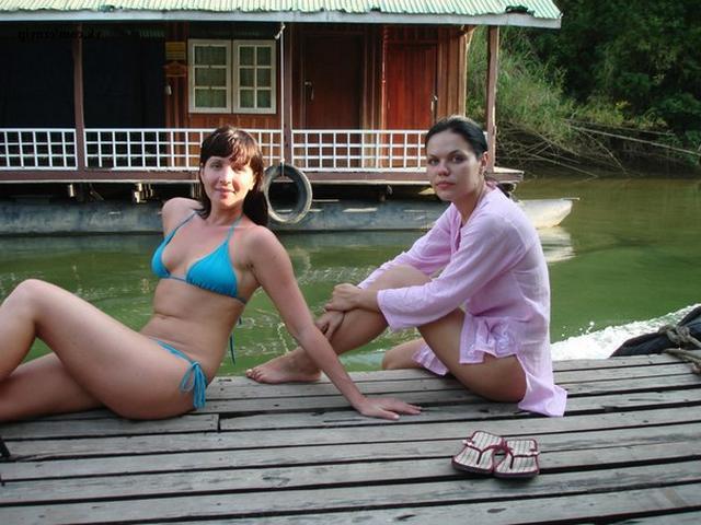 Миленькие подруги на отдыхе в Тайланде