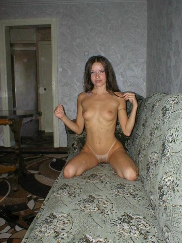 Прелестная Юленька с модельной внешностью