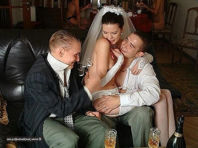 Миленькие невесты нереально горячи