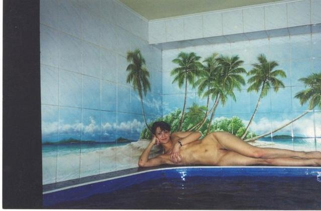Голенькие славянки отдыхают в бане