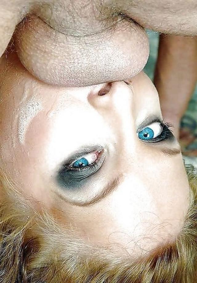 Опытные телки с членами во рту